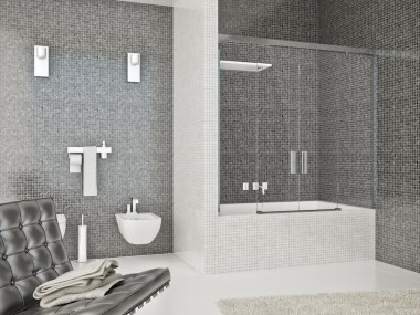 Mampara Baño Diseño Corredera Alba