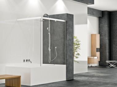 Mampara Baño Diseño Corredera Andrea