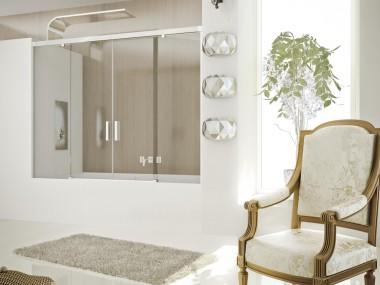 Mampara Baño Diseño Corredera Pegaso