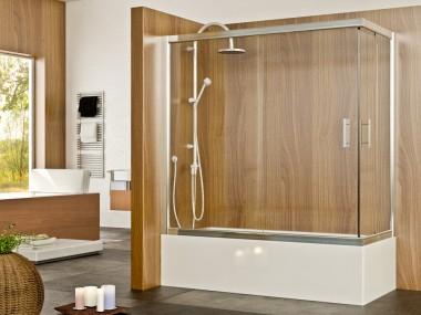 Mampara Baño Diseño Corredera Hali