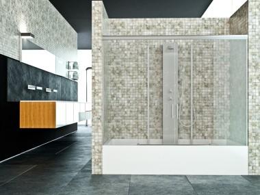 Mampara Baño Diseño Corredera Laria