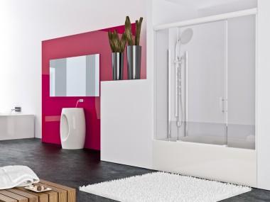 Mampara Baño Diseño Corredera Mirto