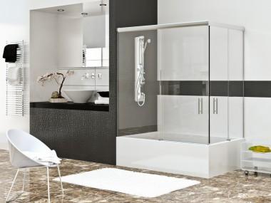 Mampara Baño Diseño Corredera Adonis