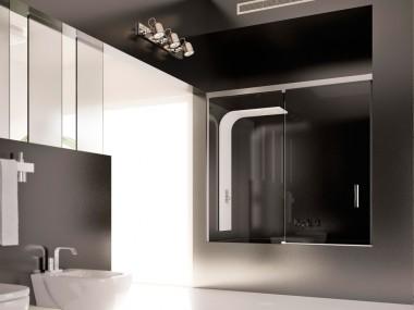 Mampara Baño Diseño Corredera Agata