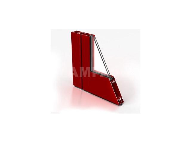 abatible aluminio sistema europeo puerta vaiven